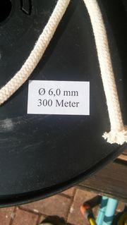 Baumwollseil Baumwollschnur 6mm geflochten Luntenschnur