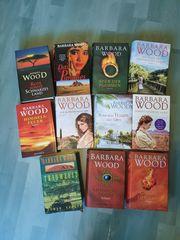 Barbara Wood 11 Bücher gebundene