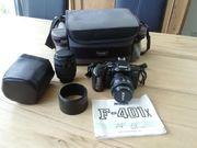 Nikon F-401x analoge Spiegelreflexkamera