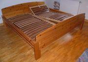 Doppelbett - Massivholz