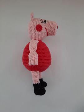 Bild 4 - Wutz Pig Rosa Schwein gehäkelt - Plochingen