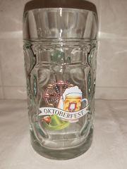 Oktoberfest Glaskrug Bierkrug Krug