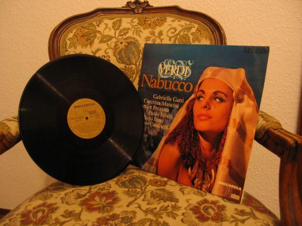 Verdi - Nabucco-Grosser Querschnitt-Vinyl-LP