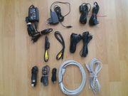 Elektrokabel verschiedene Netzadapter PC Kabel