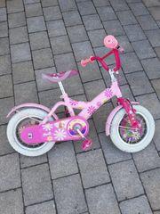 Kinderfahrrad mit Barbiemotiv für Kinder