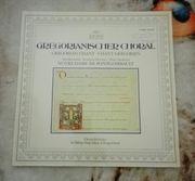 SchallplatteGregorianischer ChoralBenediktinerabtei