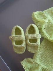 baby Kleidchen mit 3 4