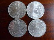 5DM Silbermünzen - komplette Sätze ab