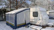 Wintervorzelt für Wohnwagen größtes Brandt-Pamir