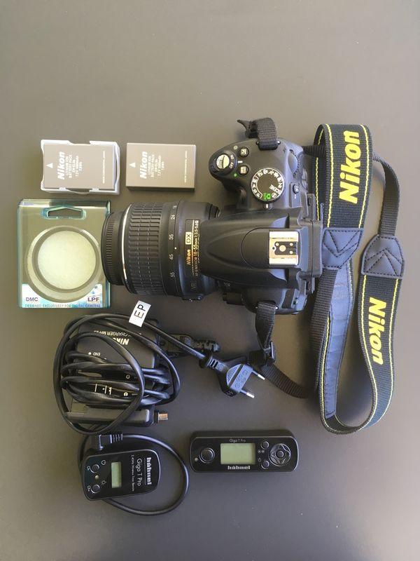 Nikon D5000 Spiegelreflexkamera Kit