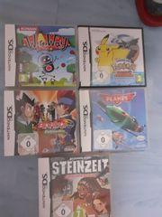 5 Nintendo DS Spiele USK