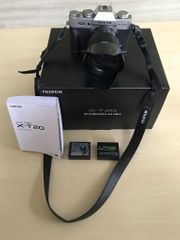Fujifilm X-T20 Systemkamera mit XC16-50mm
