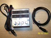 Umschaltbox für Tonbandgeräte 1 2