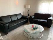 Komplett echt Leder Couch