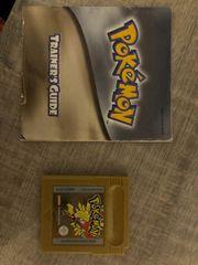 Pokemon Gold mit Anleitung