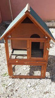 Kaninchenstall zu verkaufen