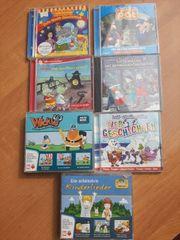 7 Kinder CDs siehe Bild