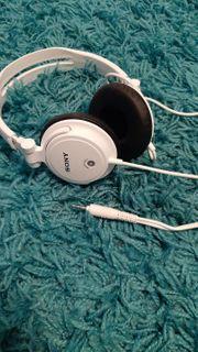 Sony Kopfhörer weiss