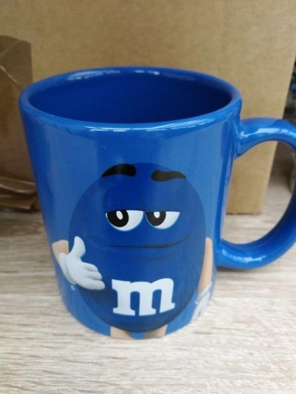M m Tasse blau
