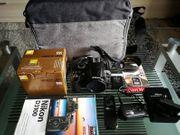 Digitale Spiegelreflexkamera Nikon D3100 mit