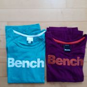 2 Marken Mädchen Shirts Bench