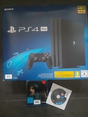 PS4 Pro 1 TB inkl