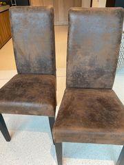 2 Stühle für den Esstisch