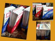 Geordnet 50 neuw MIBA-Zeitschriften in