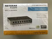 SWITCH von NETGEAR 8-Port Gigabit
