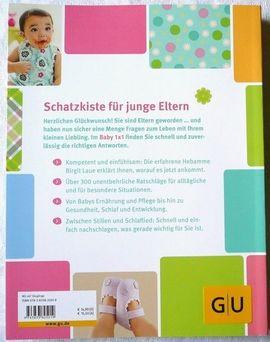 Baby- und Kinderartikel - GU Ratgeber - Das Baby 1x1