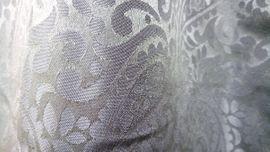 Bild 4 - 2 Silbergraue Vorhänge mit Ornamenten - Berlin Lichtenrade