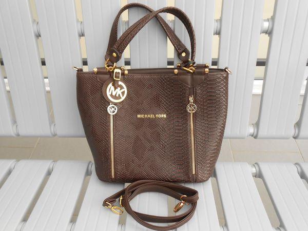b8f76961462c0 MK Damen Tasche braun gebraucht in Remseck - Taschen