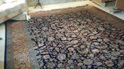 Teppich mit defekter Ecke