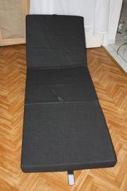 Klapp- Faltmatratze Gästebett Sitzwürfel einzeln -