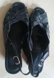 Damen Schuhe schwarz Größe 39