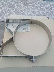 Edelstahlschornstein Wandhalter 50 mm starr
