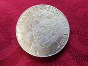 100 Schilling Münze JOHANN NESTROY