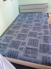 Bett Lattenrost mit Matratze 120