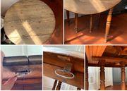 Wunderschöner Küchentisch Echtholz antik