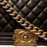 Chanel Boy Bag Medium black