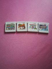 4 Nintendo 3ds Spiele zu