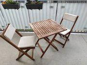Balkonmöbel-Set 3tlg