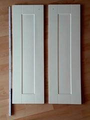 Zwei Türen cremefarben