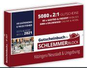 aktuellen Schlemmerblock 2021 für Kitzingen-Neustadt