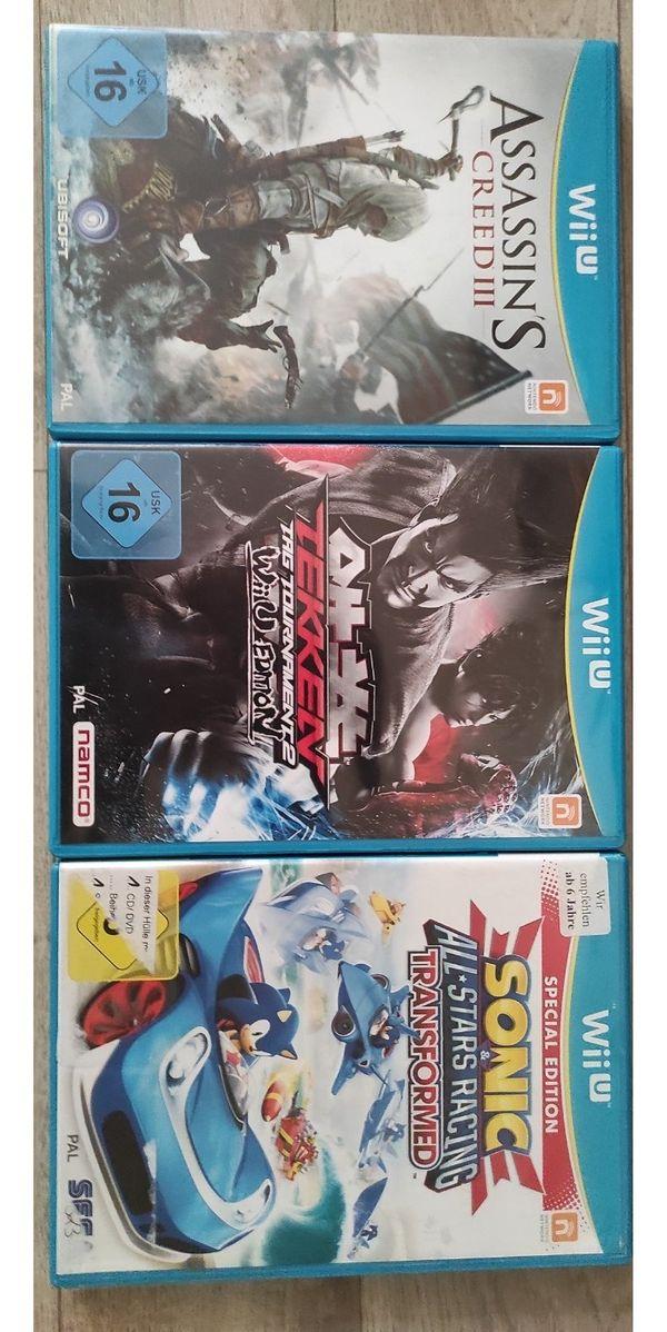 Diverse Wii U Spiele - Stück