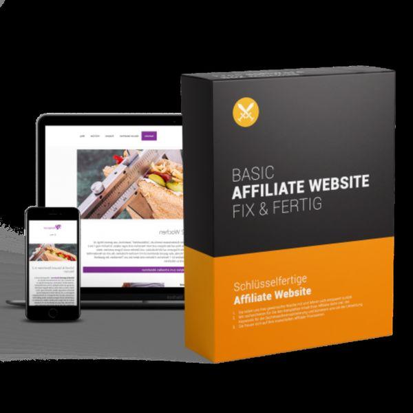 Fix und Fertig Affiliate Website