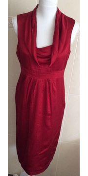 Rotes Kleid von h m