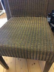 2 Stühle aus Loomgeflecht