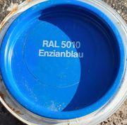 Enzianblau RAL 5010 -seidenmatt buntlack