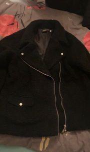 Schwarze woll Jacke